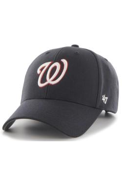 кепка (MVP) 47 Brand WASHINGTON NATIONALS NAVY WOOL (B-MVP15WBV-NYA)