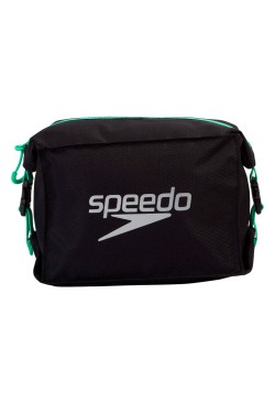 СУМКА SPEEDO POOL SIDE BAG AU BLACK/GREEN (8-09191D712)