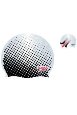 ШАПОЧКА для плав. SPEEDO REV MOUD SILC CAP AU SILVER/BLACK (8-09337D668)
