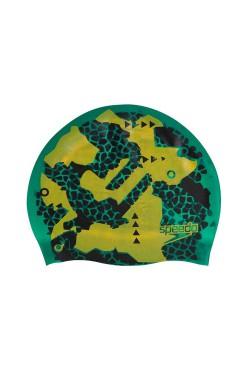 ШАПОЧКА для плав. SPEEDO FLIPTURNS REV SILC CAP AU GREEN/YELLOW (8-11301D682)