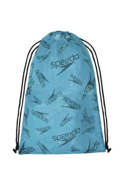 СУМКА SPEEDO PRINTED MESH BAG AU BLUE/BLACK (8-12813F965)