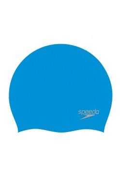 ШАПОЧКА для плав. SPEEDO MOULDED SILC CAP AU BLUE/SILVER (8-70984D437)