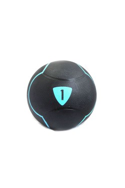 Медбол  Livepro  SOLID MEDICINE BALL черный 1 кг (LP8110-1)