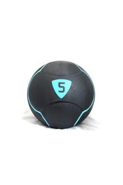 Медбол Livepro  SOLID MEDICINE BALL черный  5кг (LP8110-5)