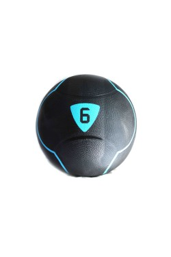 Медбол Livepro  SOLID MEDICINE BALL  черный  6кг (LP8110-6)