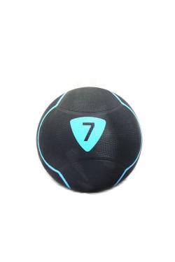Медбол Livepro  SOLID MEDICINE BALL черный 7кг (LP8110-7)
