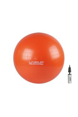 Фитбол (насос в комплекте) LiveUp ANTI-BURST BALL (LS3222-65o)