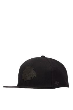 кепка (snapback) 47 Brand MATTE '47 CAPTAIN CHICAGO BLAC (H-MATTE04WBP-BK)