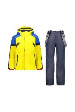 костюм лыжный CMP KID SET JACKET+PANT (30W0084-R411)