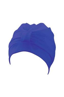 Шапочка д/плав BECO 7605 жен полиэстер (на липучке) синий (000-0303)