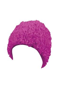Шапочка д/плав BECO 7611 жен полиэстер розовый (000-0307)