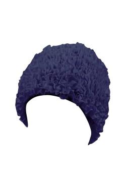 Шапочка д/плав BECO 7611 жен полиэстер темно-синий (000-0309)