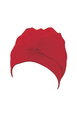 Шапочка д/плав BECO 7605 жен полиэстер (на липучке) красный (000-0403)