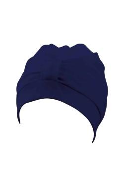 Шапочка д/плав BECO 7605 жен полиэстер (на липучке) темно-синий (000-0405)