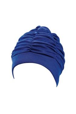 Шапочка д/плав BECO 7610 жен полиэстер синий (000-0409)