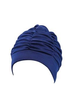 Шапочка д/плав BECO 7610 жен полиэстер темно-синий (000-0410)