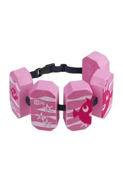 Пояс для аквафитнеса BECO детск 96071 Block-5, 2-6 р. 15-30кг розовый (000-1076)