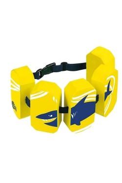 Пояс для аквафитнеса BECO детск 96071 Block-5, 2-6 р. 15-30кг желтый (000-4209)