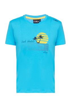 футболка CMP BOY T-SHIRT (30T9364-L616)