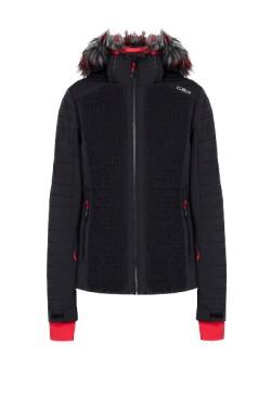 куртка лыжная CMP WOMAN JACKET ZIP HOOD (30W0666-U901)