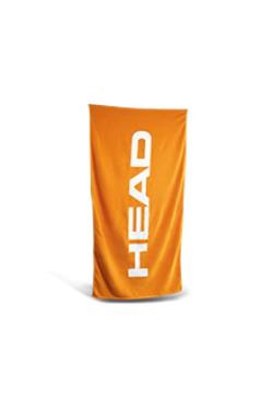 Рушник HEAD SPORT з бавовни 140*70 (помаранчевий)