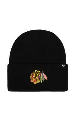 шапка 47 Brand NHL CHICAGO BLACKHAWKS (H-HYMKR04ACE-BKA)