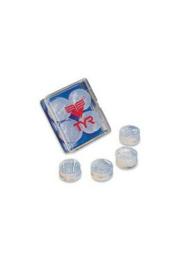 Беруши TYR Soft Silicone Ear Plugs Clear (LEP-101)