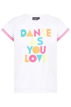 футболка CMP GIRL T-SHIRT (30D8315-A001)