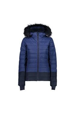 куртка лыжная CMP WOMAN JACKET ZIP HOOD (39W1656F-10ZD)