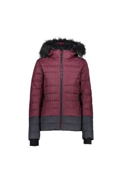 куртка лыжная CMP WOMAN JACKET ZIP HOOD (39W1656F-11ZD)