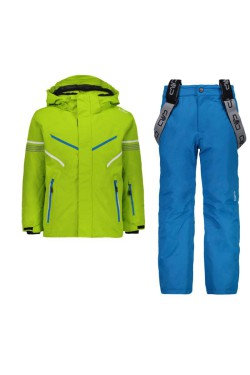 костюм лыжный CMP BOY SET JACKET+PANT (39W1844-E413)