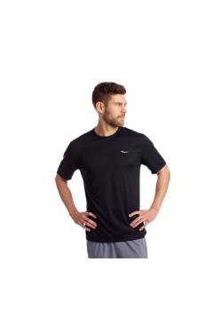 футболка Saucony STOPWATCH SHORT SLEEVE (SAM800212-BK)