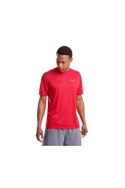 футболка Saucony STOPWATCH SHORT SLEEVE (SAM800212-RED)