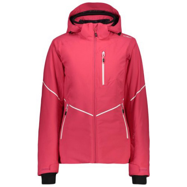 куртка лижна CMP WOMAN JACKET ZIP HOOD (39W1696-H856)