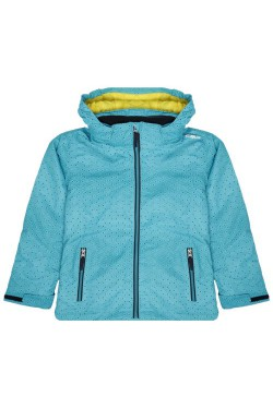 куртка лыжная(дет) CMP GIRL JACKET SNAPS HOOD (39W2085-03ZD)