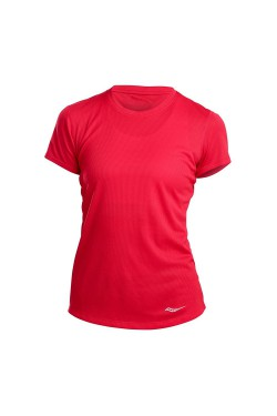футболка Saucony STOPWATCH SHORT SLEEVE (800283-RED)