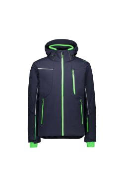 куртка лыжная CMP MAN JACKET ZIP HOOD (30W0317-N950)