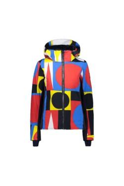 куртка лыжная CMP WOMAN JACKET ZIP HOOD (30W0766-27ZF)