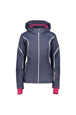 Куртка Лижна Cmp Woman Zip Hood Jacket (3W02376-U883)