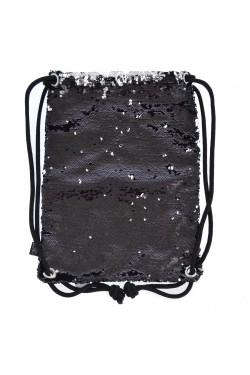 Сумка-Мішок Yes  Black Sequins  (557659)