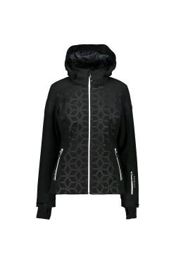 куртка лижна CMP WOMAN ZIP HOOD JACKET (3W01376-U901)