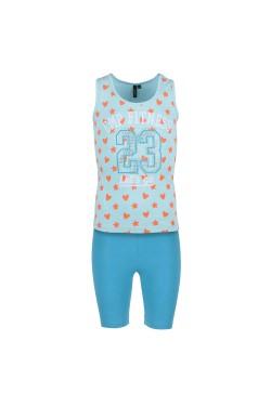 костюм спортивный CMP GIRL STRETCH SET (3D85575-L209)