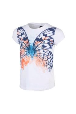 футболка CMP GIRL STRETCH T-SHIRT (3D82075-A001)
