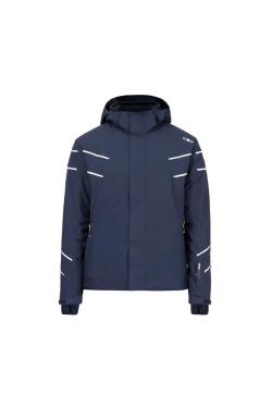 куртка лижна CMP MAN JACKET ZIP HOOD (38W0497-N950)